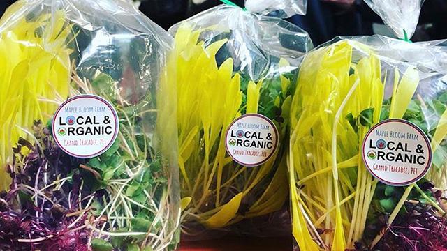 Green Fork vegetables