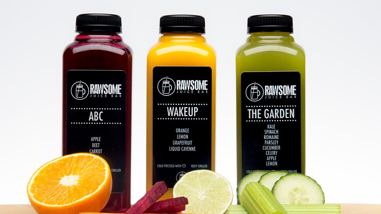 Rawsome Juice 3 bottles
