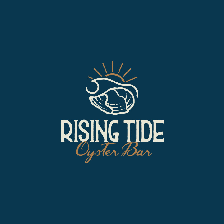 Rising Tide Oyster Bar logo