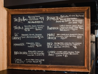 Famous Peppers Pizza Menu