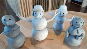 Christmas N' Clay: Build a Snowman! @ Happy Potter at Founders' Food Hall and Market